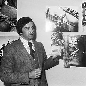 Stanley Forman - Forman in 1976