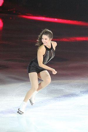 Alissa Czisny - Czisny at a 2010 Stars on Ice show