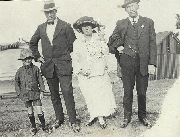 A Family In Various Tweed