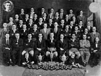 StateLibQld 1 74254 Western Suburbs Football Club, Brisbane Rugby League 'A' Senior Premiers in 1932.jpg