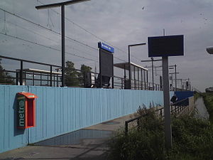 Den Helder Zuid railway station - Image: Station Den Helder Zuid