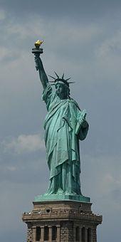Estatua De La Libertad Wikipedia La Enciclopedia Libre