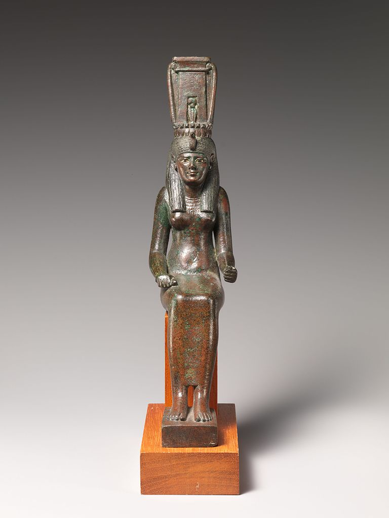 File Thoth Tarot Cards Box Jpg: File:Statue Of A Goddess, Probably Nehemetaui Or