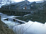 Staveley Wood Turning Weir and fish ladder