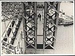 Steam trains on Harbour Bridge, 1932 (8283744908).jpg