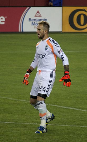 MLS Cup 2017 - Seattle's Stefan Frei made six saves in the first half, tying an MLS Cup record set in 2003