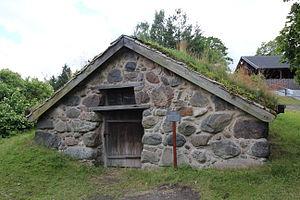 """Backstuga - """"Stenstugan"""" at the Skansen museum"""