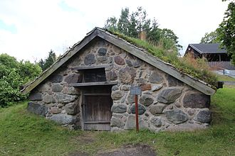 "Backstuga - ""Stenstugan"" at the Skansen museum"
