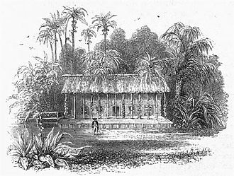 Robert Stephenson - Robert's cottage at Santa Ana
