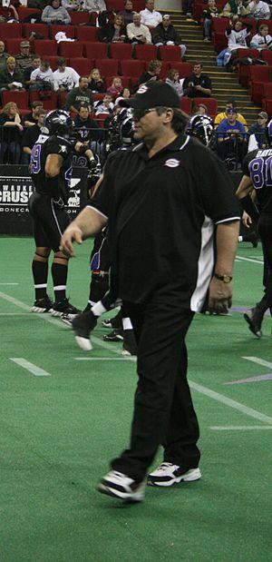 Steve McMichael - Steve McMichael in 2008
