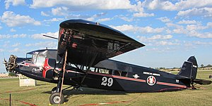 Arise, My Love - A Stinson A trimotor was flown by Paul Mantz in Arise, My Love .