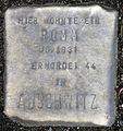 Stolperstein-Romm Jg 1931-Stein 25-Koeln-cc-by-denis-apel.jpg