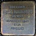 Stolperstein Göppingen, Fritz Rosinberg.jpg