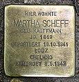 Stolperstein Goßlerstr 21 (Fried) Martha Scheff.jpg