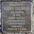 Stolperstein Hölderlinstr 11 (Weste) Maggy Salomon.jpg