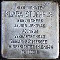Stolperstein Köln, Klara Stoffels (Belvederestraße 147).jpg