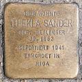 Stolperstein Thekla Sander by 2eight 3SC1488.jpg