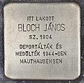 Stolperstein für Janos Bloch (Szeged).jpg