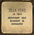 Stolperstein für Zilla Fuks (Cottbus).jpg