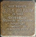 Stolpersteine Aachen, Gisela Walbaum (Krefelder Straße 16).jpg