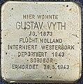 Stolpersteine Kalkar Grabenstraße 72; Gustav Vyth.jpg