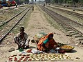 Street Vendors by Railway Tracks - Chittagong - Bangladesh (13103249033).jpg