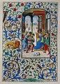 Stundenbuch der Maria von Burgund Wien cod. 1857 Christus vor Pilatus.jpg