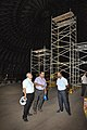 Subhabrata Chaudhuri Discussing About Fulldome 3D Space Theatre Work Progress With Shrikant Pathak And Subha Sankar Ghosh - Science City - Kolkata 2018-07-20 2509 2541.JPG