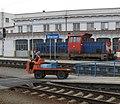 Sunday Morning at Breclav Station - Central European Railfreight hub - 16682104621.jpg