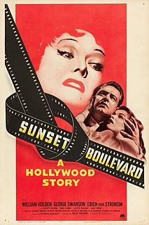 <i>Sunset Boulevard</i> (film) 1950 film by Billy Wilder