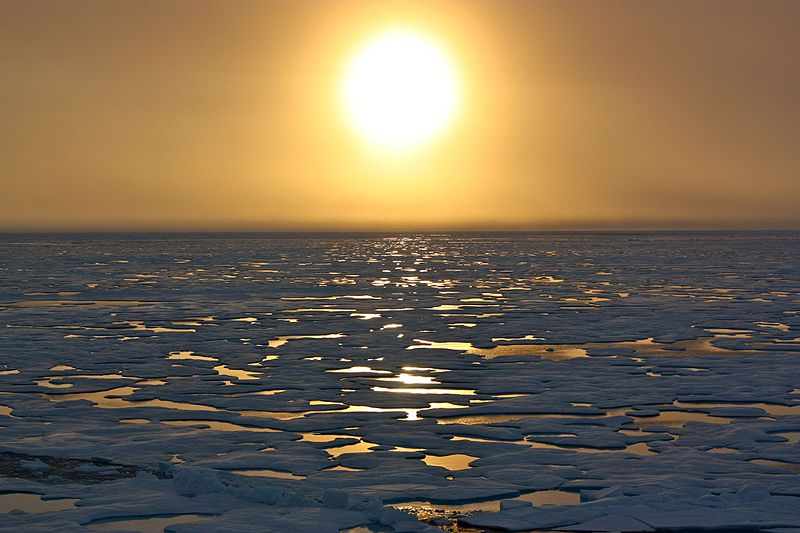 File:Sunset in the Arctic (7348953774).jpg