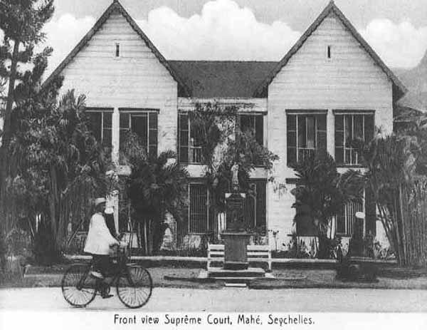 Supreme Court Seychelles 1900s
