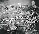 Surabaya, Netherlands East Indies, under attack on 17 May 1944 (NNAM.1996.488.024.024).jpg
