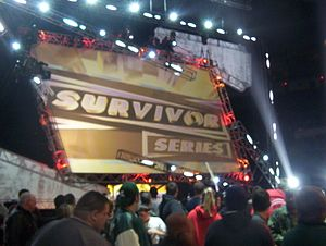 Survivor Series (2005) - Stage setup for Survivor Series