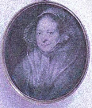 Susanna Montgomery, Countess of Eglinton - Lady Susanna in her 80s