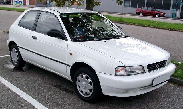 Suzuki Baleno front 20080220