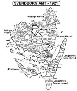 Svendborg Amt - Wikipedia, den frie encyklopædi
