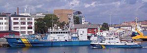 Swedish Coast Guard - Ships of the Swedish Coastguard in Karlskrona