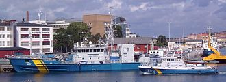 Swedish Coast Guard - Ships of the Swedish Coastguard in Karlskrona