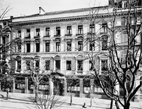 The Bank S First Offices In Zurich At Bahnhofstre 44 C 1912