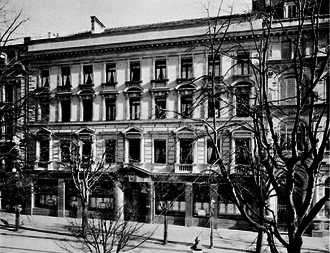Union Bank of Switzerland - The bank's first offices in Zurich at Bahnhofstrasse 44 c. 1912.