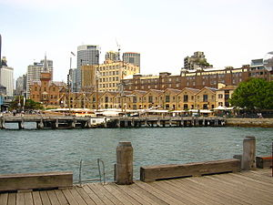 The Rocks, Sydney - Campbell's Cove