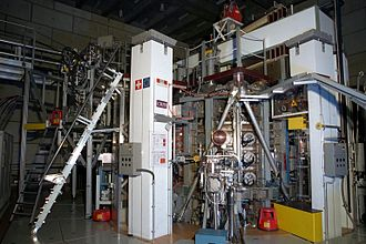 Nuclear fusion - The Tokamak à configuration variable, research fusion reactor, at the École Polytechnique Fédérale de Lausanne (Switzerland).