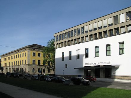 Main building of the Technical University