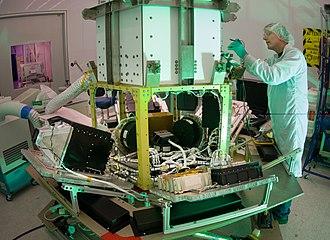 TacSat-3 - TacSat-3 bus during integration