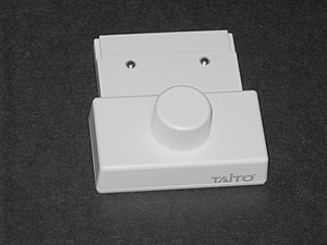 Nintendo DS accessories - The Paddle controller is an optical encoder knob like those found on Arkanoid arcade machines.
