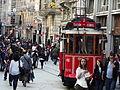 Taksim..The street is Istiklal Of Taksim in Istanbul.jpg