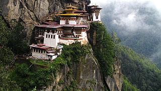 Paro Taktsang temple complex in Bhutan
