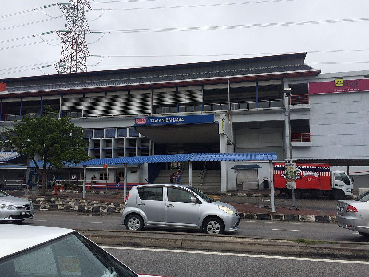Taman Bahagia Lrt Station Wikipedia