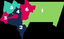 Tarija Department-Subdivisions-Tarija dpto 001